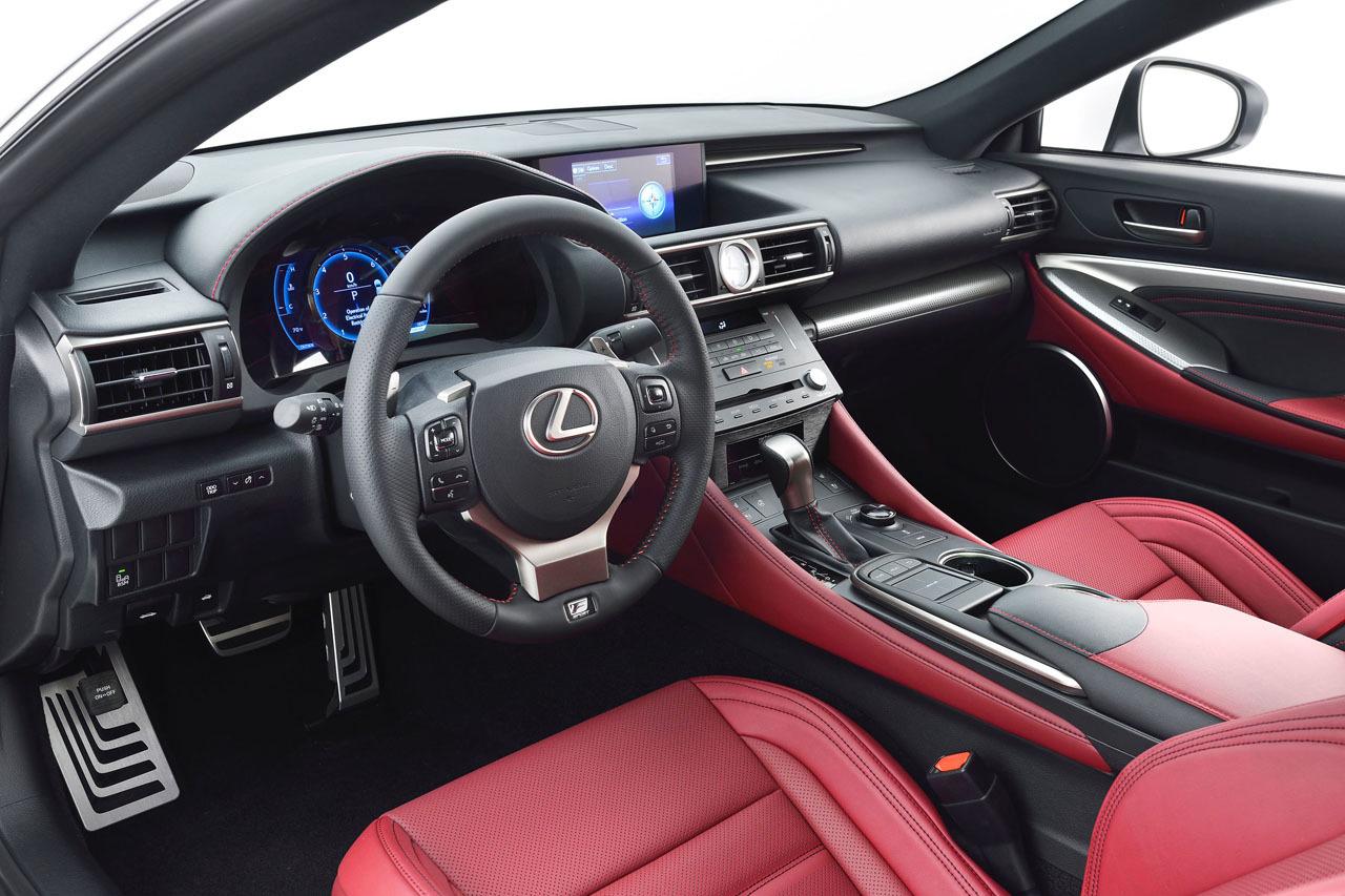 lexus rc 350 f 5 Lexus Unveils New RC 350 F SPORT