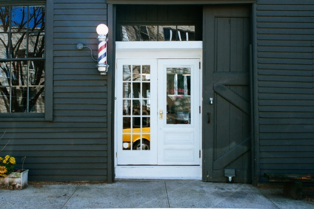 Blind Barber Williamsburg 01 630x420 A Look at Blind Barbers New NYC Shop & Bar