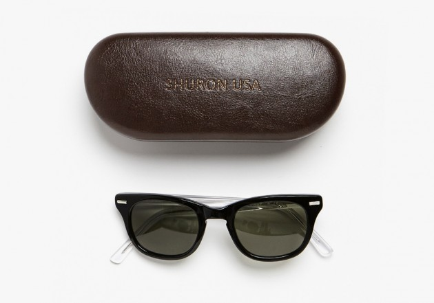 Shuron Band of outsiders sunglasses 3 630x441 Shuron for Band of Outsiders Freeway Sunglasses