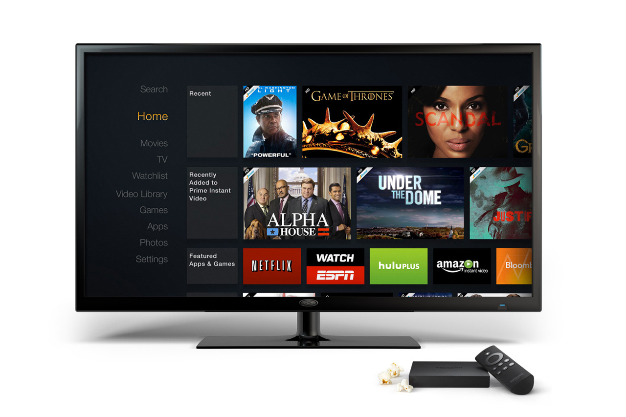 amazon unveils fire tv 1 Amazon Unveils Fire TV
