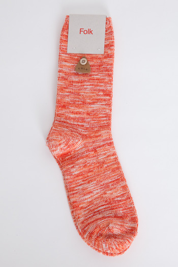 folk red melange sock 11 Socks You Need This Spring To Freshen Up Your Wardrobe