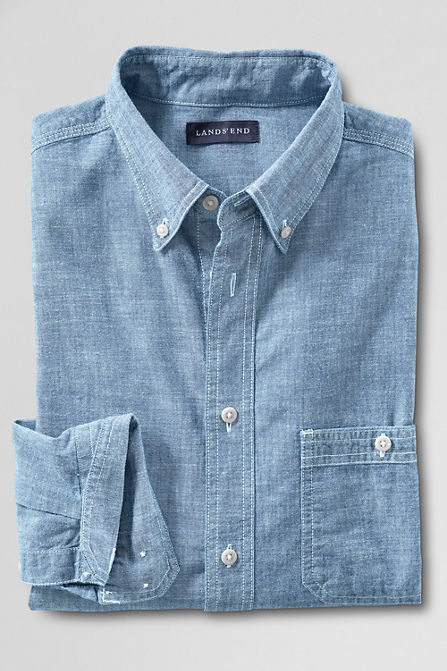 411330 AG13 LF LID 10 Chambray Shirts You Need To Wear This Summer