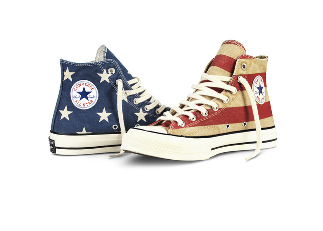 CTAS Vintage Flag 1 large Celebrate Memorial Day With the Converse Bars and Stars All Star