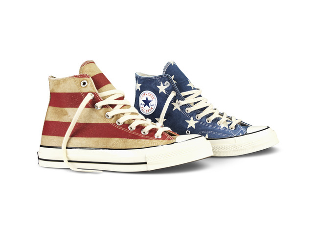 CTAS Vintage Flag 8 large Celebrate Memorial Day With the Converse Bars and Stars All Star