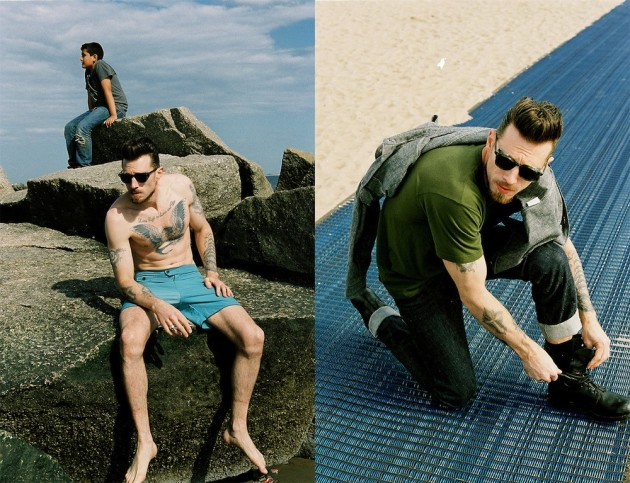 Left Field Spring 2014 1 630x483 Left Field A Coney Island Afternoon Summer 2014 Lookbook