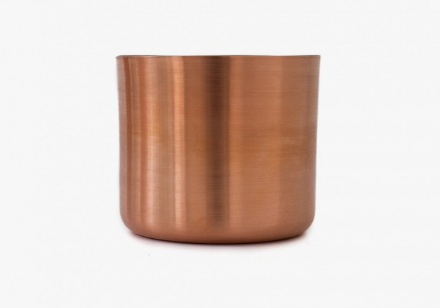Makr Tumblers Copper 1 630x441 Makr Hand Turned Copper Tumbler Set
