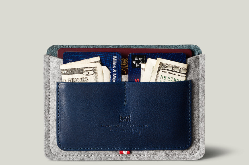 Ocean Passport Wallet feat Hard Graft Unveils Ocean Collection
