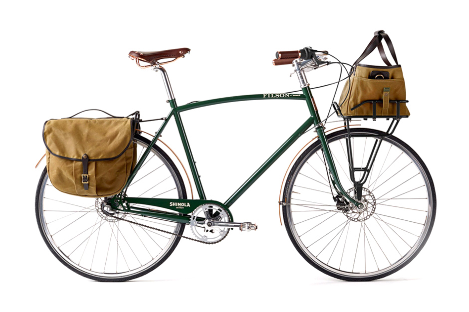 shinola bixby x filson bicycle 001 Shinola x Filson Limited Edition Bixby Bicycle