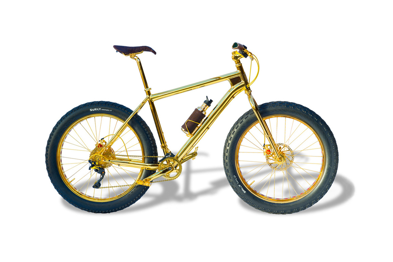 the 1 million usd bike 01 The House of Solid Gold Unveils $1 Million USD Mountain Bike