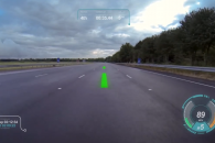 Jaguar Virtual Windscreen Technology Video
