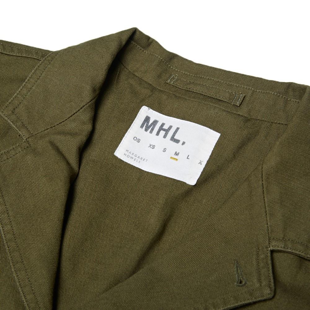15 08 2014 mhl cottondrillstaffjacket khaki 1 MHL by Margaret Howell Cotton Drill Staff Jacket