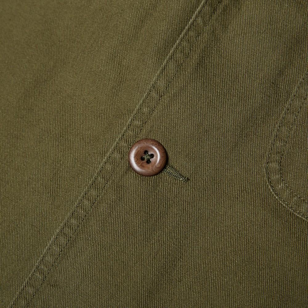 15 08 2014 mhl cottondrillstaffjacket khaki 2 MHL by Margaret Howell Cotton Drill Staff Jacket