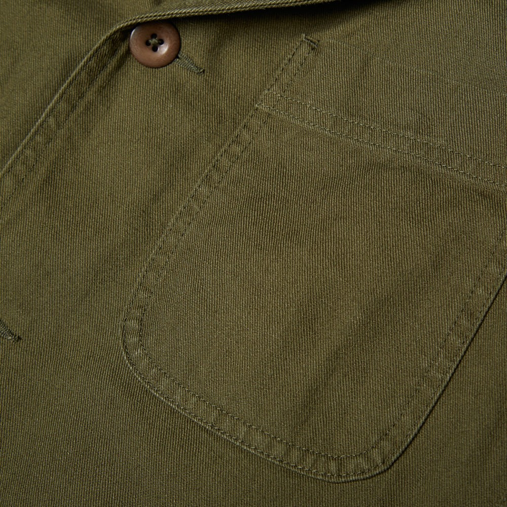 15 08 2014 mhl cottondrillstaffjacket khaki 3 MHL by Margaret Howell Cotton Drill Staff Jacket